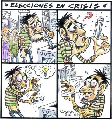 elecciones en crisis