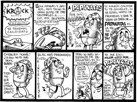 Papanatas en comic... por CHAVA.