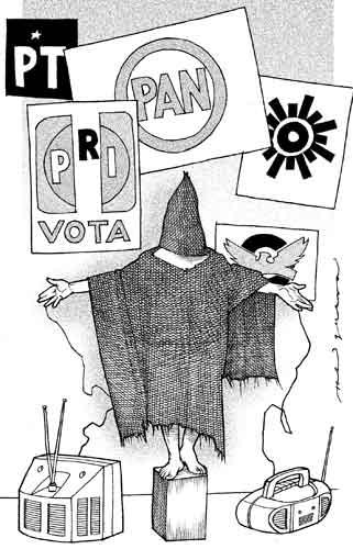 Tortura. Helguera (La Jornada).